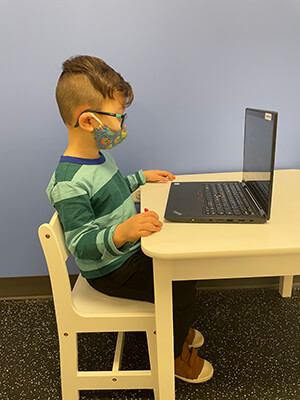 pediatric e-learning ergonomics